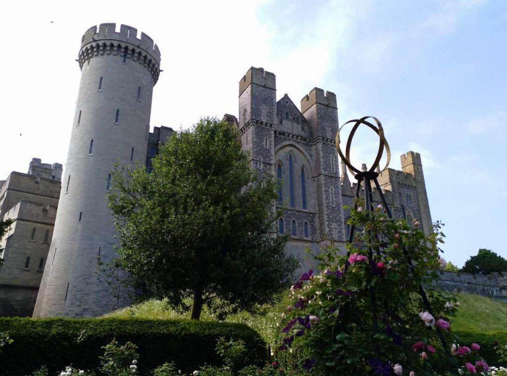 castillo de arundel desde los jardines