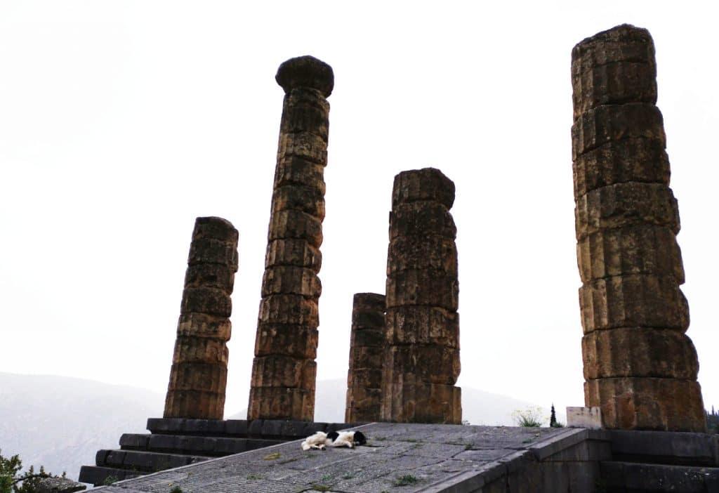 ruinas arqueológicas Delfos