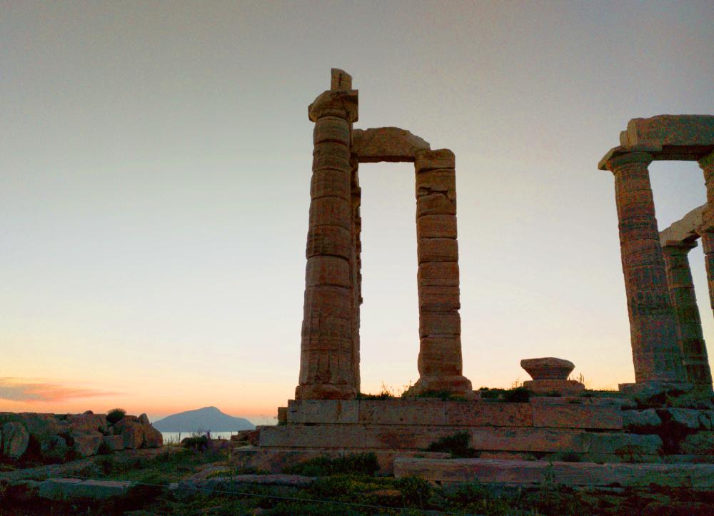 Templo de Atenea en Cabo Sunion